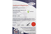 Certificate of Registrtion Quality Management