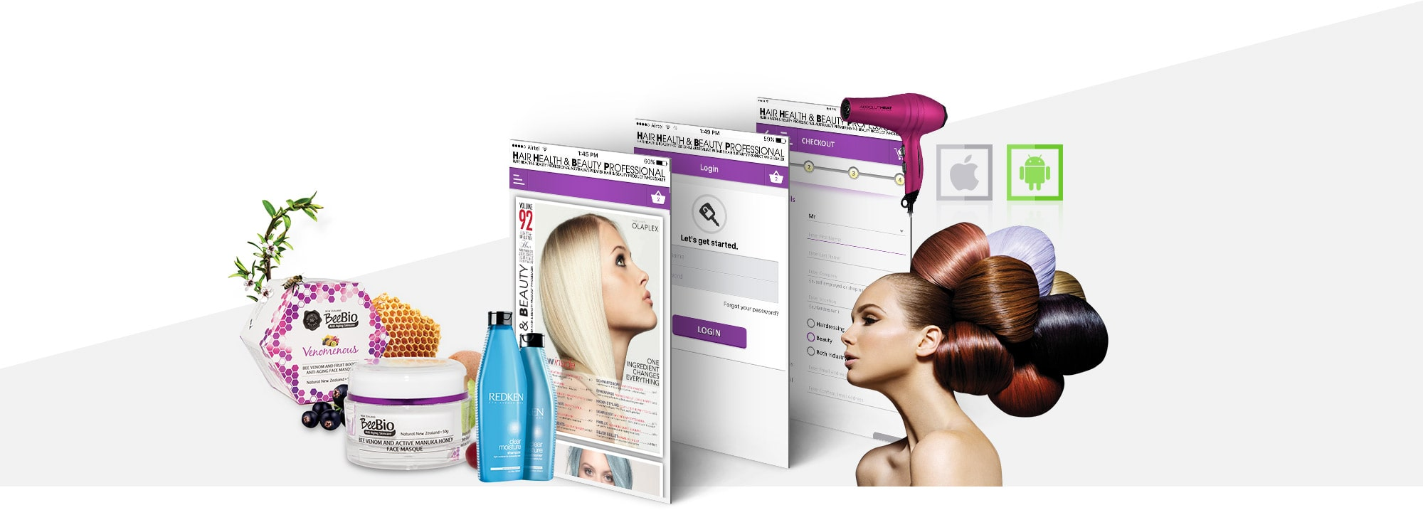 Hair Health & Beauty Professional