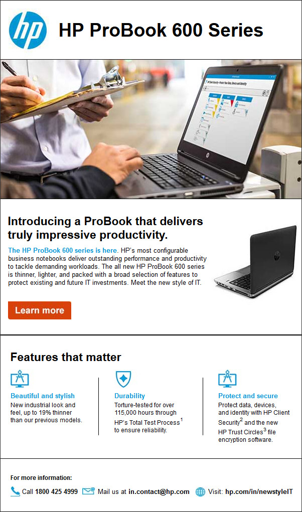 HP ProBook 600 Series